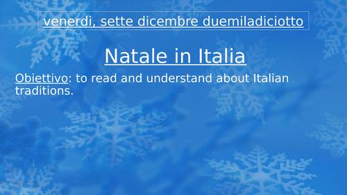 Il Natale in Italia - Christmas quiz