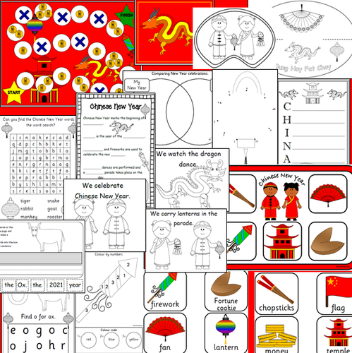 CHINESE NEW YEAR  2020 games, crafts, activities- Year of the Rat