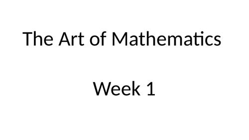Art - Maths