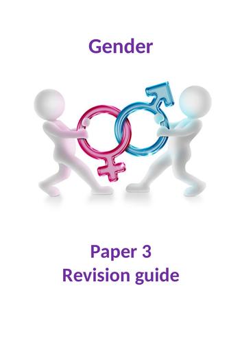 Gender Paper 3 Revision Guide AQA