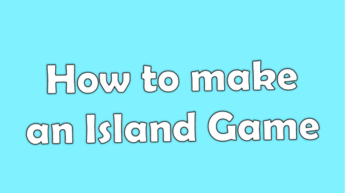 Kodu Island Game Tutorial