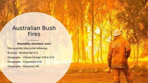 Australian Bushfire Form Activity