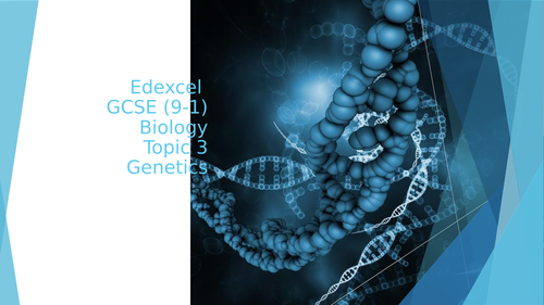 Edexcel GCSE (9-1) Biology Topic 3