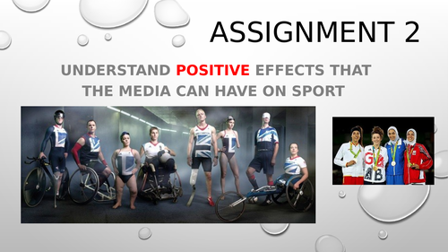 RO54 - Media in Sport assignment 2 (positive effects)