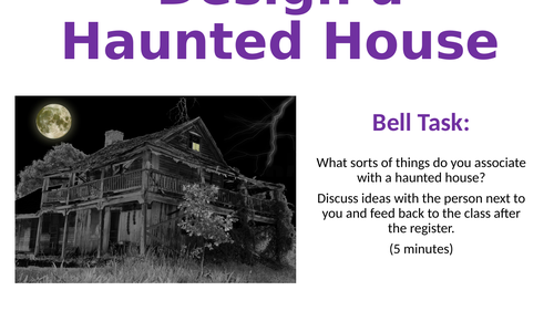 Design a Haunted House