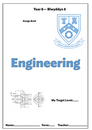 KS3 Y7 Y8 Y9 Engineering Booklets