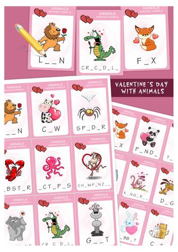 Valentine's Day with animals