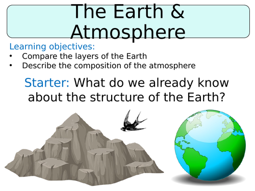 KS3 ~ Year 8 ~ The Earth & It's Atmosphere