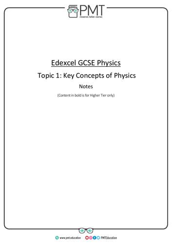 Edexcel GCSE Physics Notes