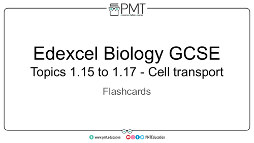 Edexcel Biology GCSE Flashcards