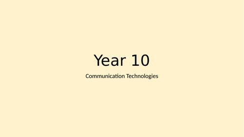 BTEC DiT - Comp 3, Ad Hoc Lesson & Workbook