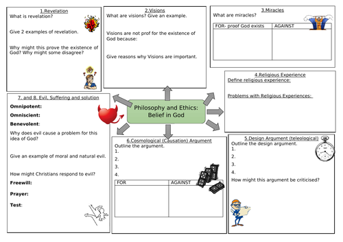 RC Belief in God Revision Page