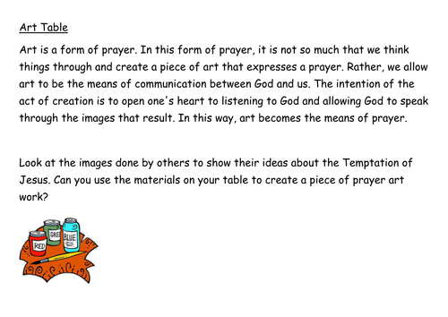 Prayer: Experiential lesson