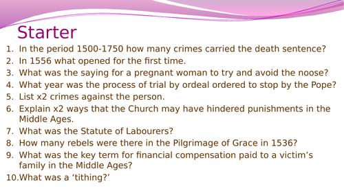 Crime and Punishment- The Gunpowder Plot, 1605