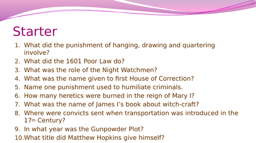 Crime and Punishment in Early Modern England- A consolidation