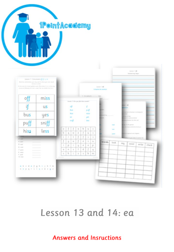 Year 1 Spelling Worksheets English - ea