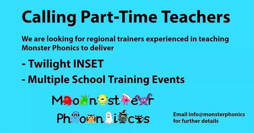Calling Part-Time KS1 Teachers