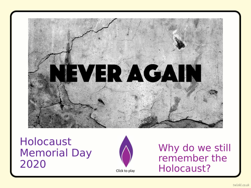 Holocaust Memorial Day 2020 - Stand Together