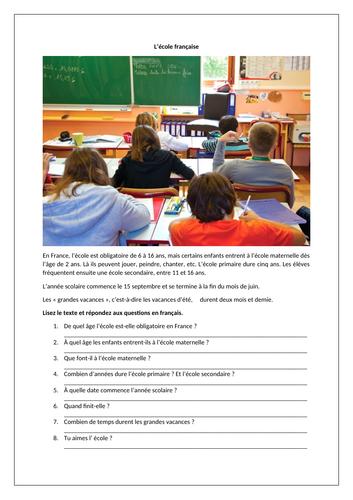 AQA Studio GCSE French (Higher) - L'école chez nous, chez vous - Module 6 - Page 125