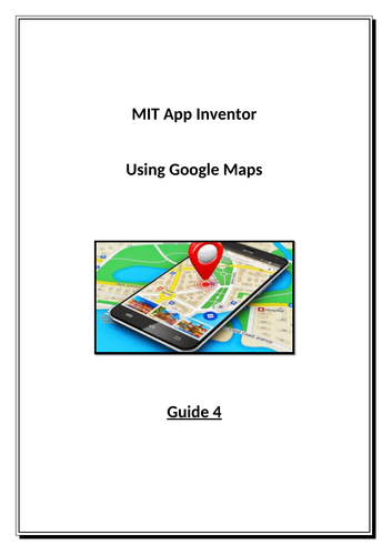 MIT App Inventor - Using Maps