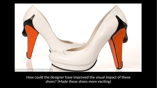 How to build a shoe - Shoe design project