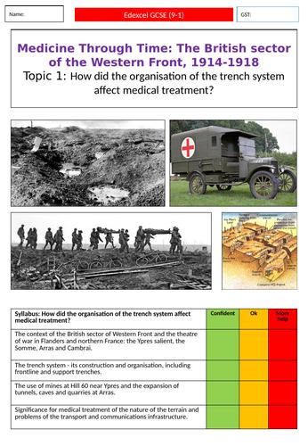 WW1 Medicine: Trenches & Ambulances