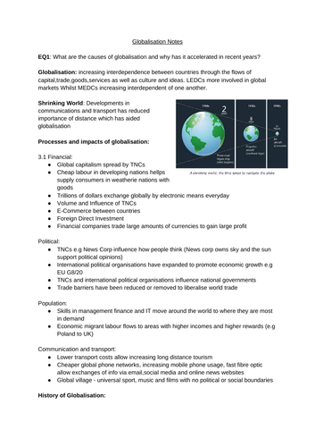Globalisation Notes
