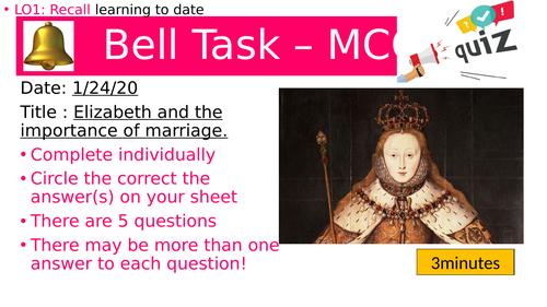 Elizabeth I - Marriage