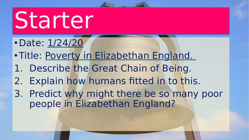 Poverty in Elizabethan England
