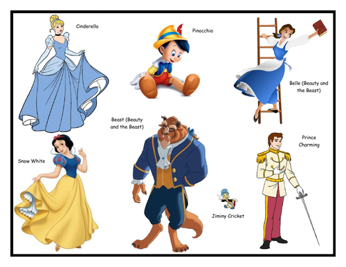 Fairytale Characters and Activities (2 resources)