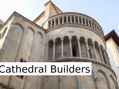 WJEC GCSE poetry 2021 - 'Cathedral Builders' by John Ormond PPT