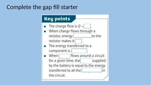 P5.5 Appliances and efficiency AQA 9-1