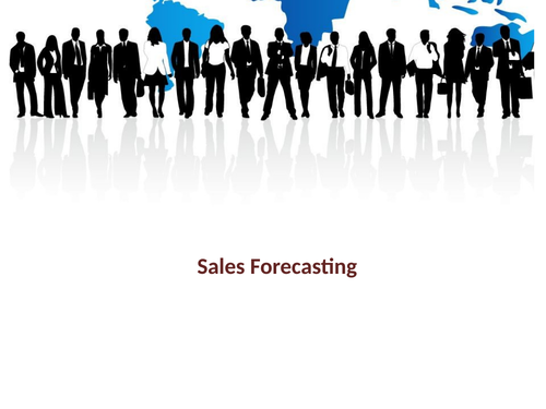 AS Business Year 12 Sales Forecasting Lesson Resources