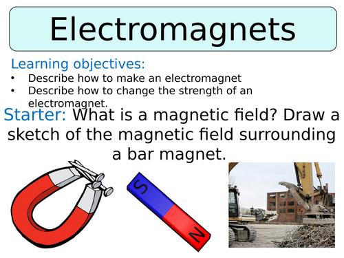 KS3 ~ Year 8 ~ Electromagnets