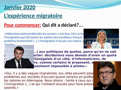 """Chanson """"Mercy"""" - Madame Monsieur (la politique d'immigration)"""
