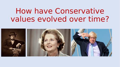 Conservatism - One Nation Conservatism