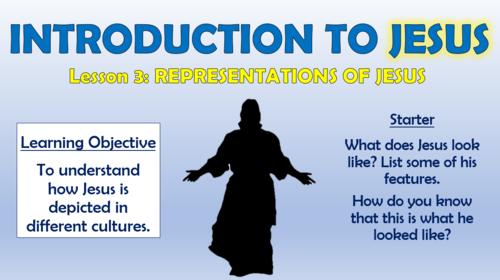 Introducing Jesus - Representations of Jesus!