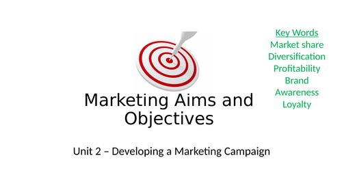Complete Resource Pack: BTEC Business LEVEL 3. Developing a Marketing Campaign