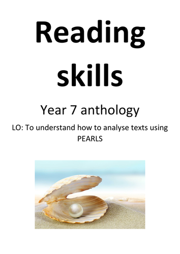 Anthology of extracts - fiction and non-fiction KS3