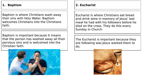 What are the 7 Sacraments?