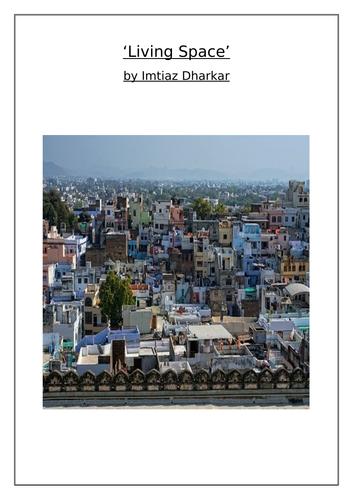 'Living Space' Poem (Imtiaz Dharkar) Comprehension Questions