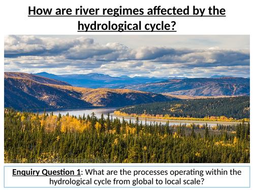 River Regimes (Edexcel Geography A Level lesson new spec)