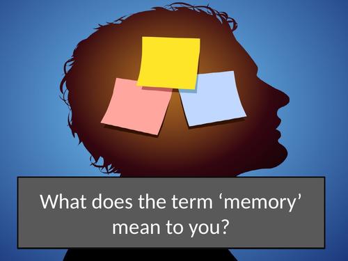 GCSE psychology Memory Unit 1