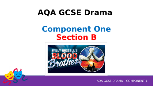 AQA GCSE Drama Component 1 - 4 Mark Question (Theory Lessons and Structure)