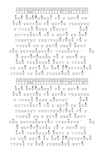 Wave Anatomy Cryptogram