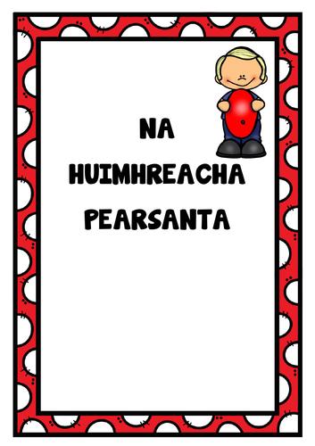 Uimhreacha Pearsanta Poster