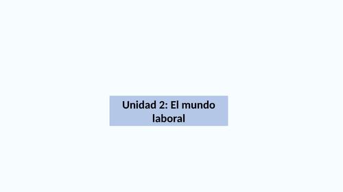 Jóvenes con ganas de trabajar, Spanish AS
