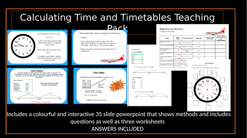 Timetables and Time Calculations