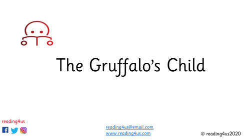 Gruffalo's Child Guided Reading
