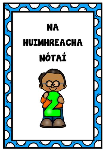 Uimhreacha Gaeilge Irish Numbers